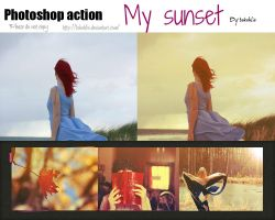 My sunset by Bokehlie