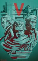 Metal Gear Solid 5 by MenasLG