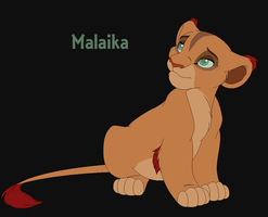 Malaika- The Blind One by Cece-Edgars-Sister