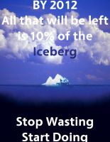 Global Warming Iceberg by Alleluja64