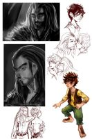 Hobbit Doodles by Asano-nee