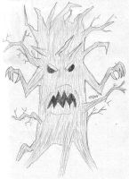 Monster Tree by DanielTheDementedOne