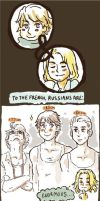 APH: Russians + Frenchmen 2 by Trillzey