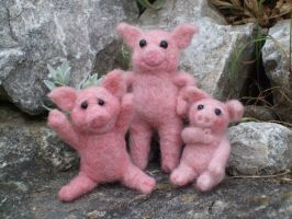 The three little pigs by Shoshannah84