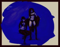 Gallery Girls Blue by FablePaint