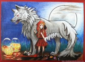 Little Red Riding Hood - Halloween verison by DoodlingMelody
