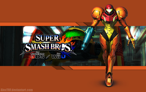 Samus Wallpaper - Super Smash Bros. Wii U/3DS by AlexTHF