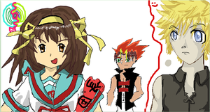 iScribble with friends by Lehvorak