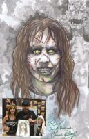 The Exorcist Linda Blair and Me by ChrisOzFulton
