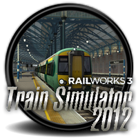 Train Similator 2012 - Icon by Blagoicons