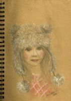 Girl with a wool hat by FiabeSCa
