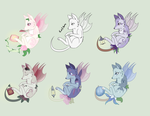GardenFox adoptables new base CLOSED by StarDust-Adoptables