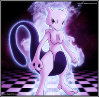 Mewtwo by aluchen