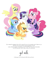 Ponyville Milk Advocacy Poster - Rev1 by dm29