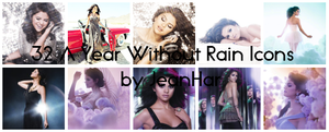A Year Withour Rain Icons by JeanHar