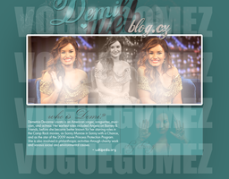 My layout with ddlovato. by VogueGomez