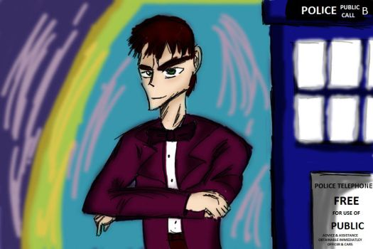 The 11th Doctor by TheDarkJAvenger