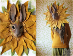 Sunflower Rabbit Mask by Nymla