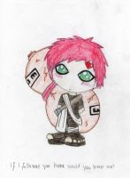 Chibi Gaara by deirocker