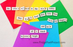 The Daily Magnet #309 by FridgePoetProject