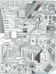 Circuit Drawing by Project-Parallel