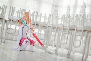 Asuna, Sword Art Online by hoojv