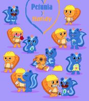 PetuniaXHandy Doodles by SilverAshes109