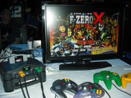 Japanese Nintendo 64 with Disk Drive by betterwatchit