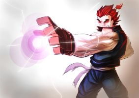 Akuma The Badass by TheRedVampx1
