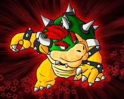 The king of koopas by Mythical-Human