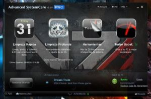 N7 Theme Advanced System Care by BlueWolfSoul
