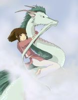 Spirited Away study by b-kitten