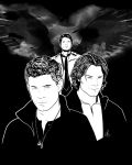 Supernatural - Winchesters by LRitchieART