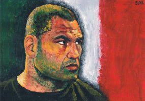 Cain Velasquez by SallyDoesArts