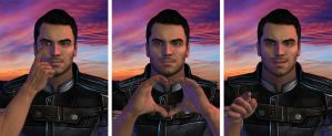 Kaidan Loves You! by mandyalenko
