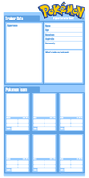 Pokemon Character Sheet BLANK by xxsymmetryxx
