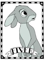 Watership Down Wallpaper: Fiver by LostInTheTrees