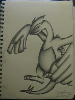 my attempt at drawing Lugia by ownerfate