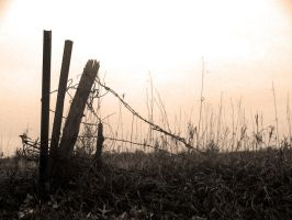 broken fence by SEAallen