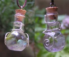 Magic Vial - Swirling Winds by Izile