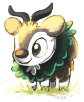Skiddo by sketchinthoughts