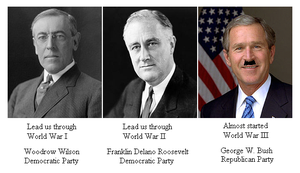 World Wars with Political Parties by Winter-Phantom