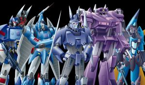 Decepticon Group Shot by cwmodels
