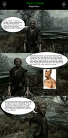 Skyrim is Strange - Argonians by HelloMyNameIsEd