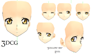 MMD- Code Geass Face-DOWNLOAD by MMDFakewings18