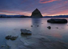 Pyramid Lake NV by mykeeX