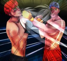 Commission -- Dan VS Kevin by azureXtwilight-rllz