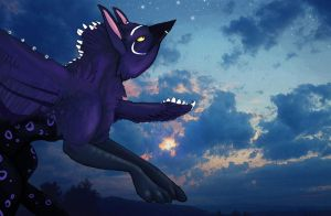 The Starwatcher by EmberGryphon