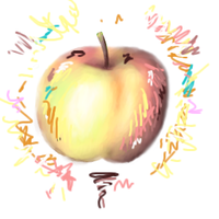 """artistic apple"" by apples-art"