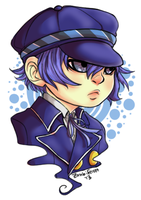 Sticker Commission: Naoto by Doctor-Ita